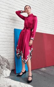LKBennett Preen model Shoes Heels Fashion Dress HighEnd pink orange aline