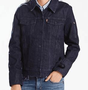 fashion technology denim jacket blue gps google levi