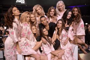 Victoria's Secret Balmain Models Angels Balmain Fashion Lingerie Collaboration Punk