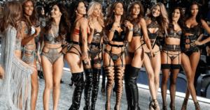 Victoria'sSecret Balmain Models Angels Balmain Fashion Lingerie Collaboration Punk