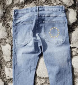 Jeans-with-EU-flag