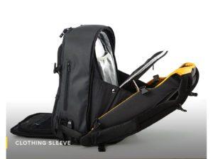 Clothing Sleeve-Numi-backpack-smart-travel-solar-sun-organisation-technical-powerbank-multipurpose-water resistant-safe