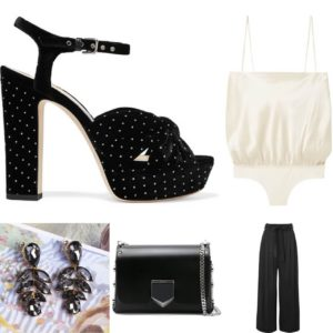 Outfit-idea-statement-earrings