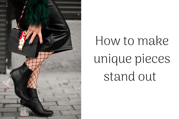 How to make unique pieces stand out