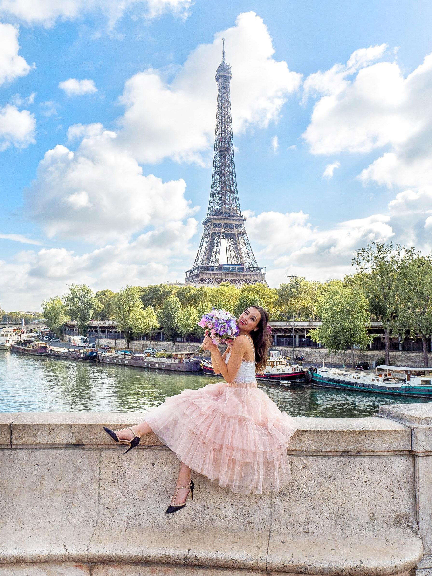 Jordan Brown, paris, Eiffel Tower