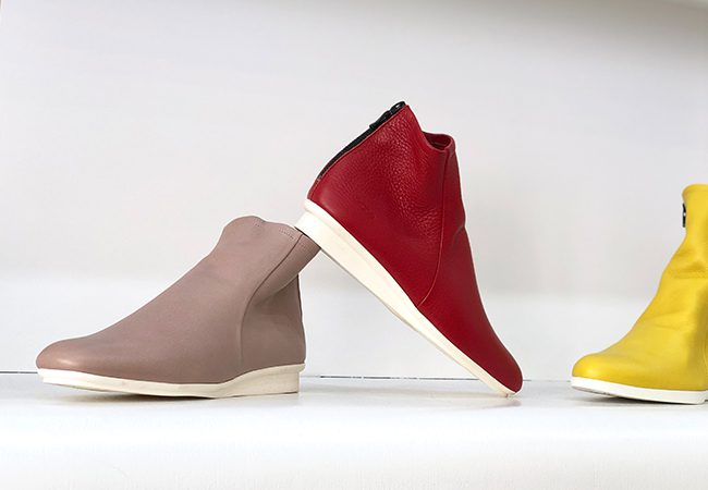 Paris boutiques, Arche Shoe offers handmade fashionable shoes of unparalleled quality