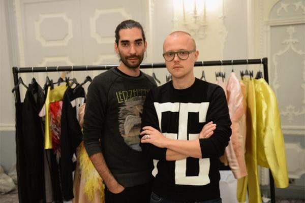 Fashion designers Fyodor Podgorny and Golan Frydman